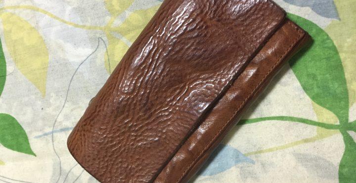 バックラッシュ イタリアンショルダー製品アンティーク加工 財布