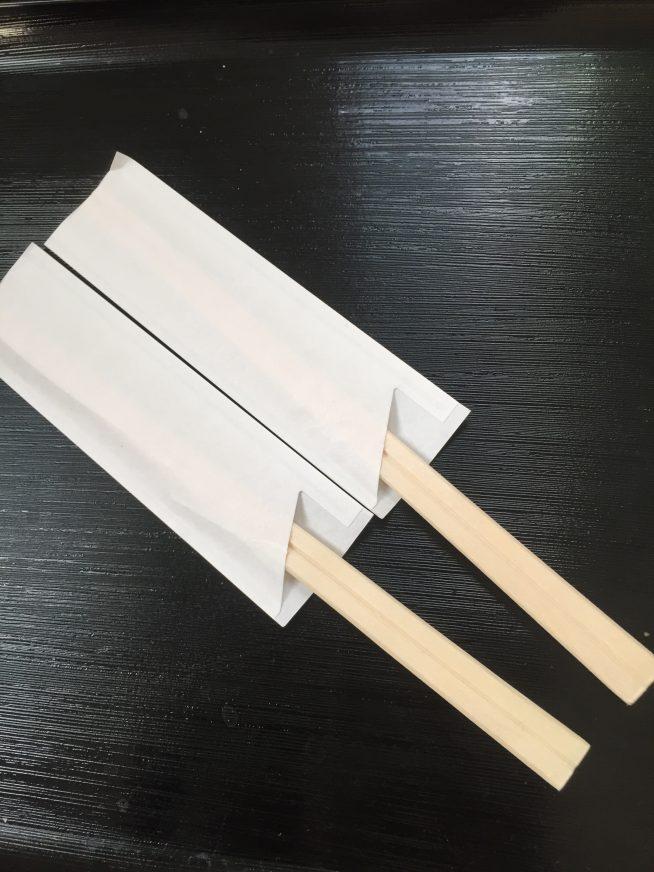 魁龍ラーメン 箸