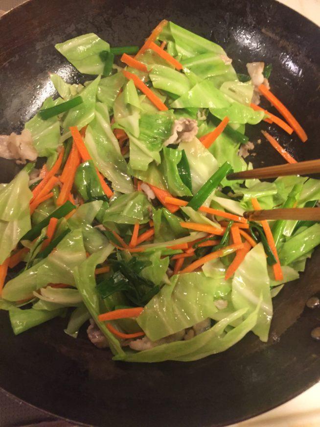 韓国風 焼きそば チョル麺