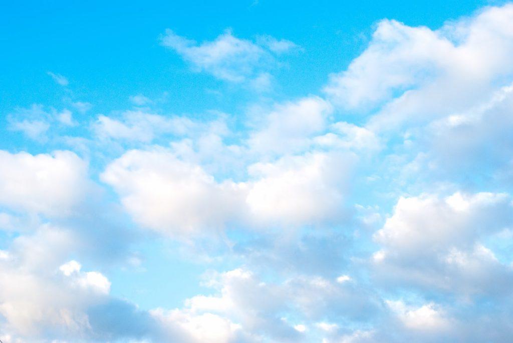 清々しい青空