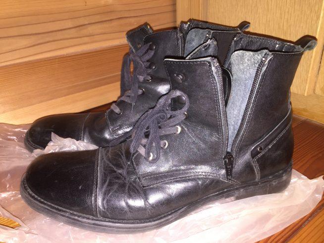 ステファノロッシ ブーツ 側面